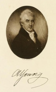 Arthur Young, from the frontispiece of the 'Autobiography'