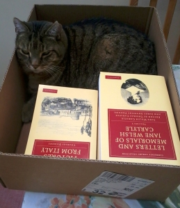 Max hopes that my retirement will mean fewer books in the house – little does he know...