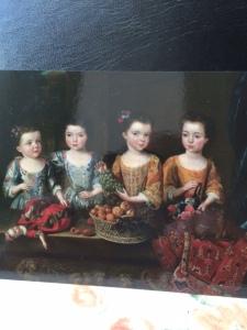 The daughters of Sir Matthew Decker, poster girls for the exhibition. (c) Fitzwilliam Museum Enterprises Ltd.)