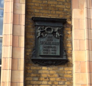 Sir Samuel Romilly lived (and died) here: just off Russell Square, London