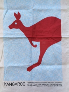 Unsullied kangaroo, a present from Oz