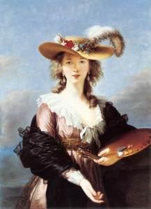 Vigée Le Brun, self-portrait, 1782