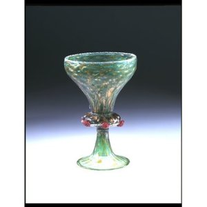 A Salviati goblet, c. 1868. Courtesy of the Victoria and Albert Museum.