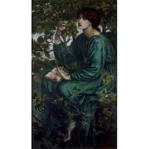 D.G. Roissetti, 'The Day-Dream'. Courtesy of the Victoria and Albert Museum