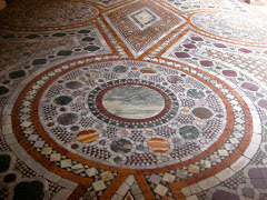 Part of the mosaic (opus sectile) floor at Ca' d'Oro