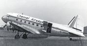 The Dakota on Channel Airways livery
