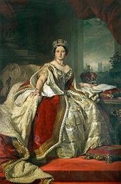 Queen Victoria, 1859, by Winterhalter