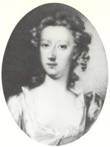 A miniature, believed to be the young Mary Granville, later Delany.