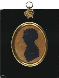 This silhouette of Dorothy seems to be the only image of her except the sketch taken in her extreme old age. (Credit: The Wordsworth Trust)