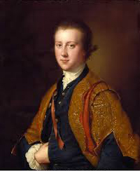 Viscount Fitzwilliam as an undergraduate, by Joseph Wright of Derby. (Note the spectacular student gown!) (Credit: the Fitzwilliam Museum, Cambridge.)