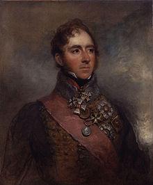 Lord Uxbridge, by George Dawe (Credit: National Portrait Gallery)