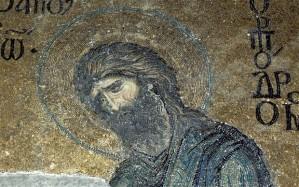St John the Baptist in Hagia Sophia.