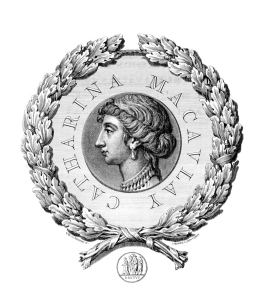 Frontispiece picture of Catharine Macaulay