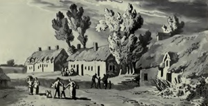 The farm at Mont-St-Jean where William died (from the book).