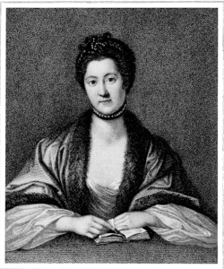 Anna Seward, who was furious that Erasmus Darwin had published one of her poems under his name.