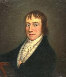 William Wordsworth in 1798, by William Shuter: the earliest image known. (Credit: Cornell University Library)