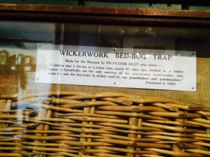 The wickerwork bed-bug trap.