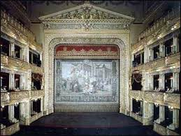 The interior of the Estates Theatre today