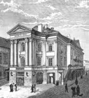 The Estates Theatre, Prague, in 1797