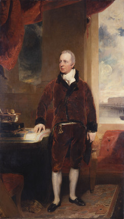 George Hibbert, by Sir Thomas Lawrence (1811). The portrait was commissioned for the boardroom of the West India Docks Company. (Credit: Museum of London)