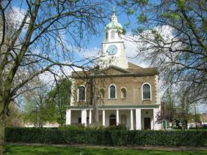 The church of Holy Trinity, Clapham.