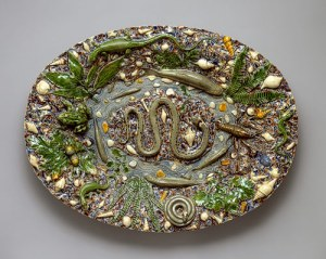 A plate by a late sixteenth-century follower of Palissy