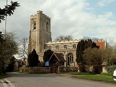 St Lawrence's church, Great Waldingfield, Suffolk.
