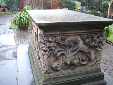 Image result for Tradescant tomb