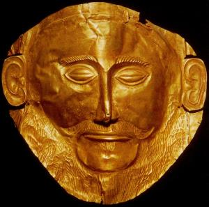 Not, in fact, the face of Agamemnon, but wonderful none the less.