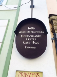 The site of Germany's first coffee house.