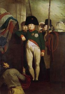 Among the sightseers at Plymouth was Charles Eastlake, who was rowed out to the ship to make the sketch for this portrait. Credit: the National Maritime Museum.