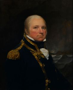 Captain John Cooke, painted between 1797 and 1803 by L.F. Abbott.