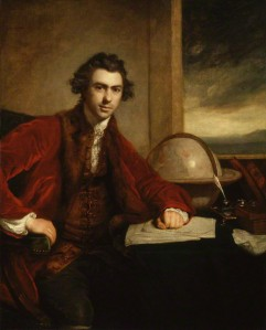 Sir Joseph Banks, by Sir Joshua Reynolds, 1773. Credit: The National Portrait Gallery.