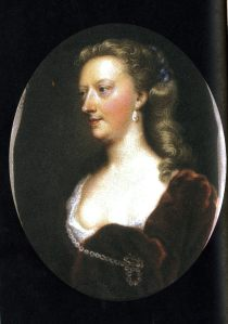 Mary Granville, Mrs Pendarves, from about 1740.