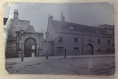 The Spinning House on St Andrew's Street, replaced in 1901 by the old Police Station, and now council offices.