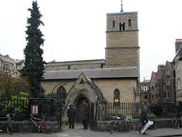 St Bene't's (Benedict's) church in Cambridge. Hobson's home was yards away, on Peas Hill.