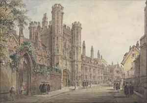 St John's gate, c. 1800.