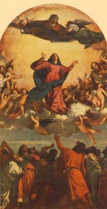 Titian's Santa Maria Assunta, in the Frari.