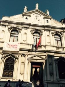 The Ateneo Veneto: exterior.