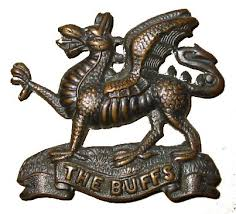 Regimental badge of The Buffs.
