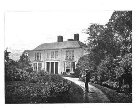 Edgeworthstown House, the family home.