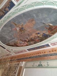 Palazzo Garzoni: ceiling fresco.