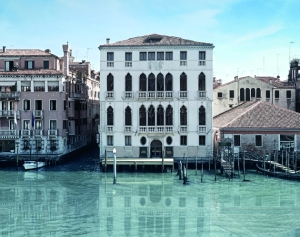 Palazzo Garzoni and the warehouse from across the Canal.