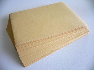 The prosaic manila envelope.