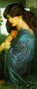 D.G. Rossetti, 'Proserpina'. (Credit: Tate Britain.)