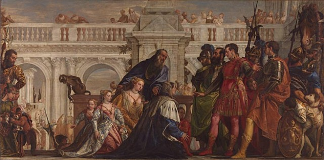 Veronese's masterpiece. Credit: The National Gallery.