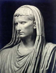 Augustus as pontifex maximus.