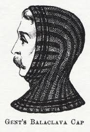 The (almost) original 'balaclava cap', and its modern incarnation.