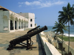 The fort at Elmina, Ghana, built by the Portuguese. (Credit: Jenny Pate)