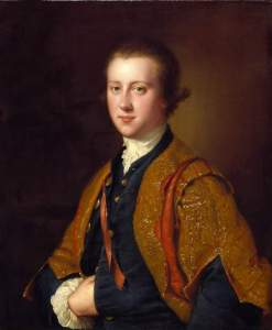 The 7th Viscount Fitzwilliam, painted in 1764 by Joseph Wright of Derby. Credit: the Fitzwilliam Museum.